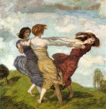 Sounds of Spring - Franz Stuck