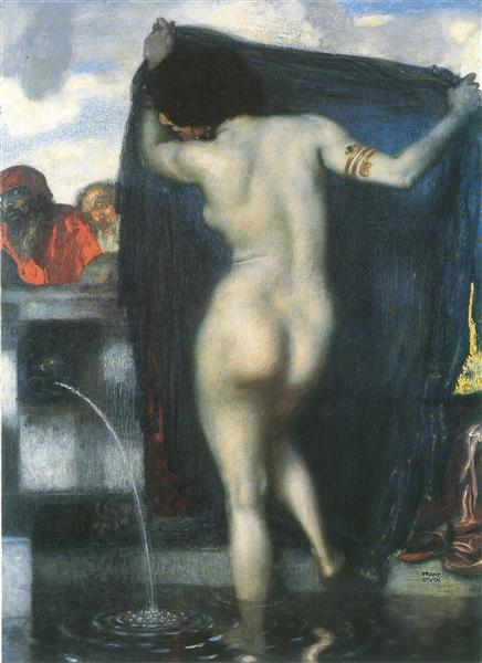 Susanna and the Elders, 1913 - Franz Stuck