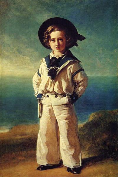 Albert Edward, Prince of Wales - Franz Xaver Winterhalter
