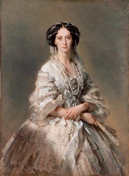 Portrait of Empress Maria Alexandrovna, 1857 - Franz Xaver Winterhalter