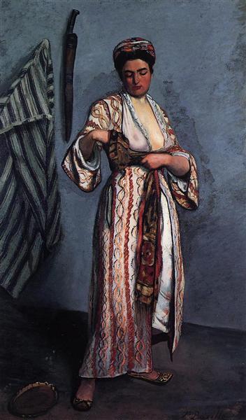 Woman in Moorish Costume, 1869 - Frederic Bazille