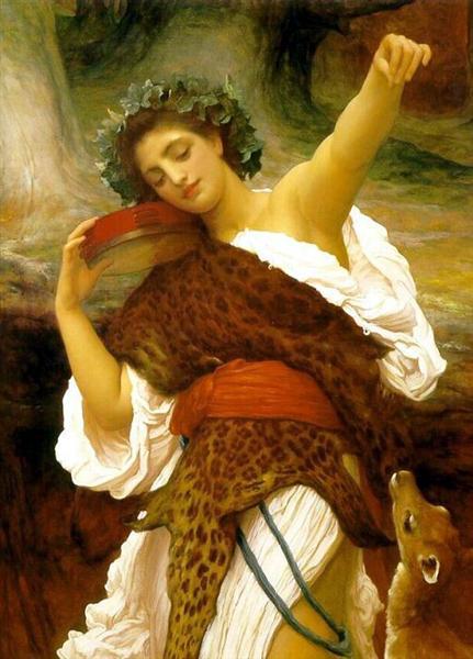 Bacchante, 1895 - Frederic Leighton