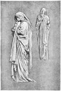 "Illustrations from Volume 1 of ""The Yellow Book"" - Frederic Leighton"