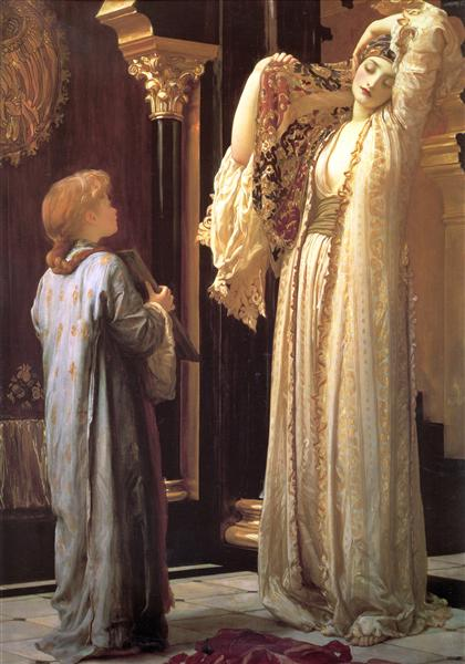 Light of the Harem, c.1880 - Frederic Leighton