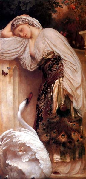 Odalisque, 1862 - Frederic Leighton