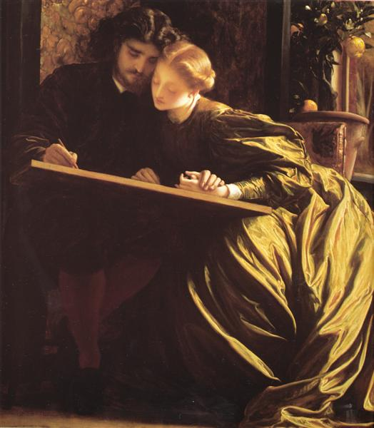The Painter's Honeymoon - Frederic Leighton