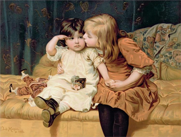 Never Mind, 1884 - Frederick Morgan