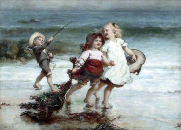 Sea Horses, 1894 - Frederick Morgan