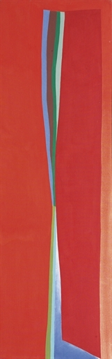 Red Split - Friedel Dzubas