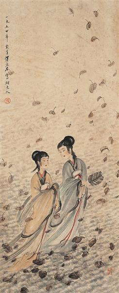 unknown title - Fu Baoshi