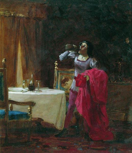 Servant of Cardinal, 1869 - Fyodor Bronnikov