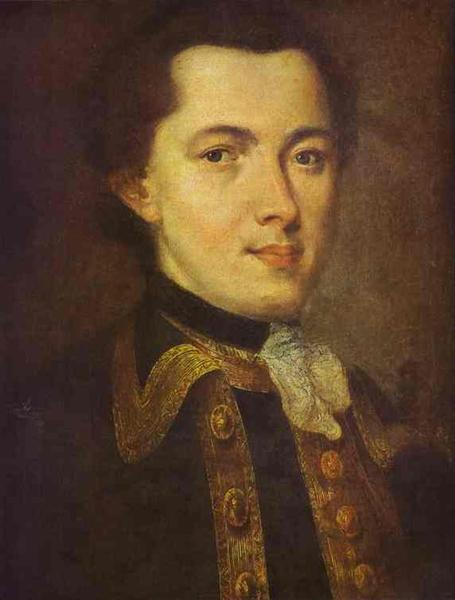 Portrait of an Unknown Man, 1757 - Fyodor Rokotov