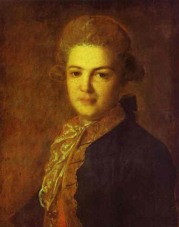 Portrait of Count Artemiy Ivanovich Vorontsov, 1765