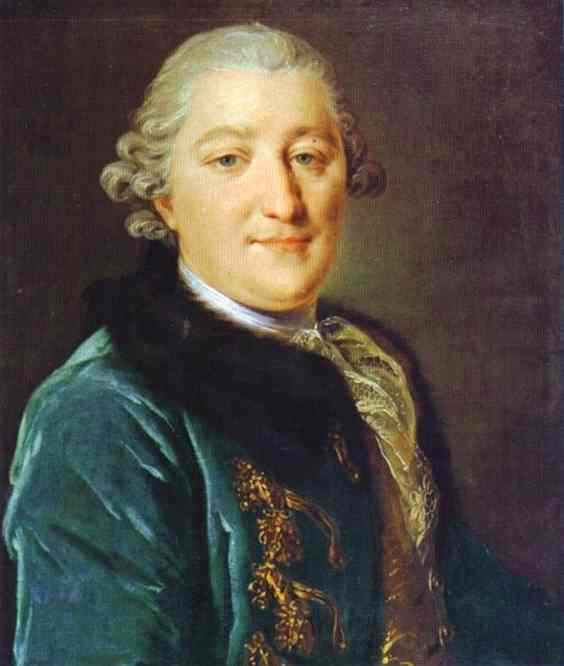 Portrait of Count I.G.Orlov, 1762-1765
