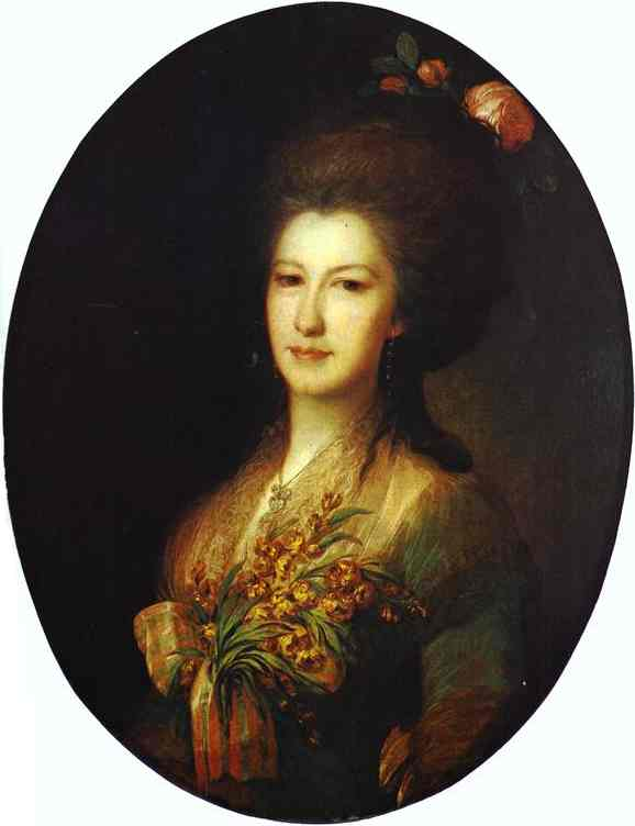 Portrait of Countess Elizaveta Santi, 1785