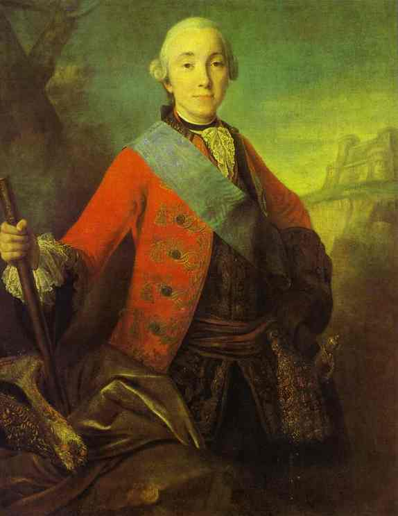 Portrait of Great Duke Peter Fedorovich, Later Emperor Peter III, 1758