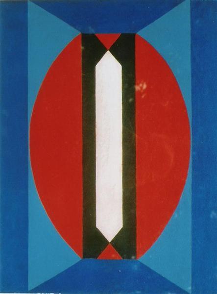 Composition, 1973 - Galliano Mazzon