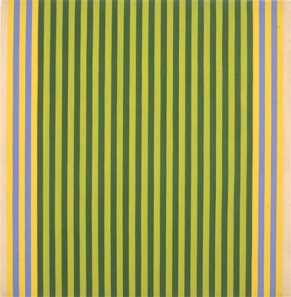 Limelight/Sounds of Grass, 1960 - Gene Davis