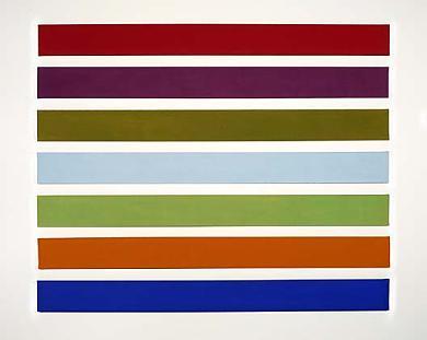 Wall Stripes No. 3, 1962 - Gene Davis