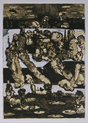 P.D. Zeichnung, 1963 - Georg Baselitz