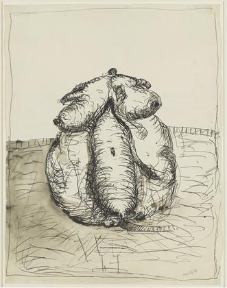 Peitschenfrau, 1964 - Georg Baselitz