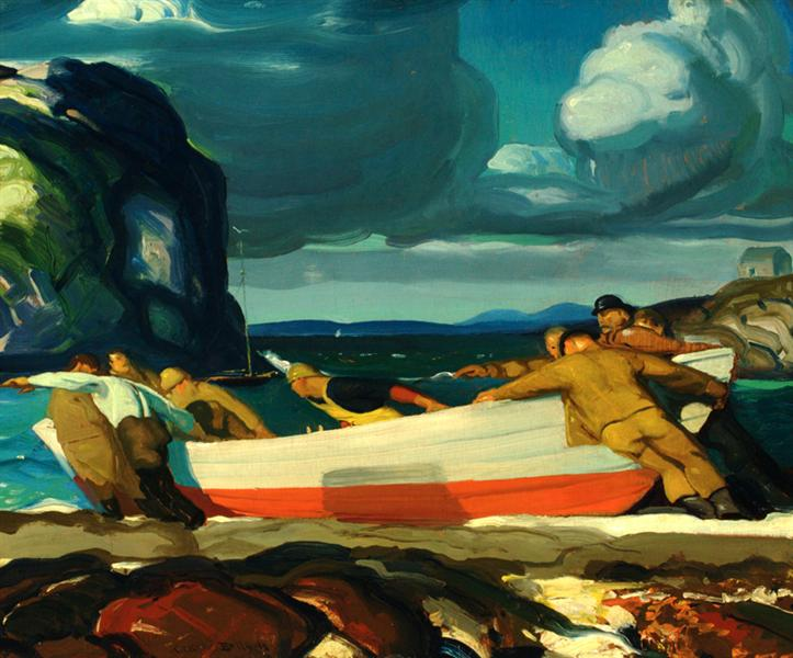 The Big Dory - George Bellows