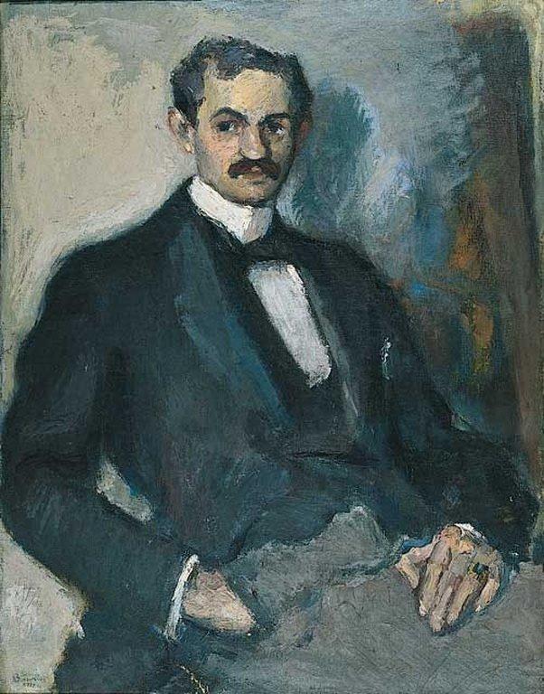 Portrait of a man, 1919