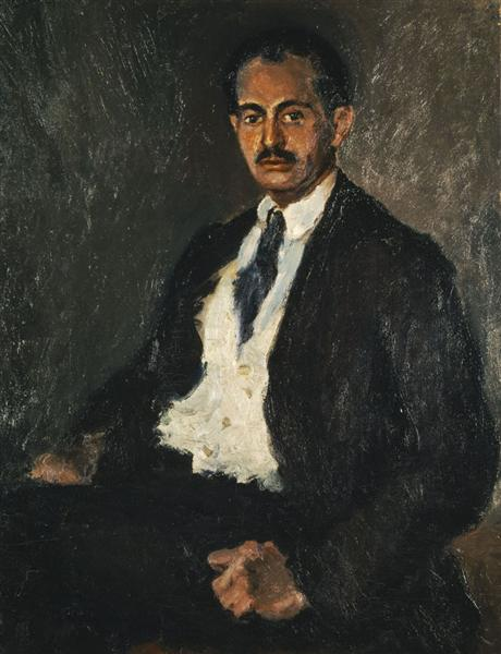 Self-Portrait, 1917 - George Bouzianis