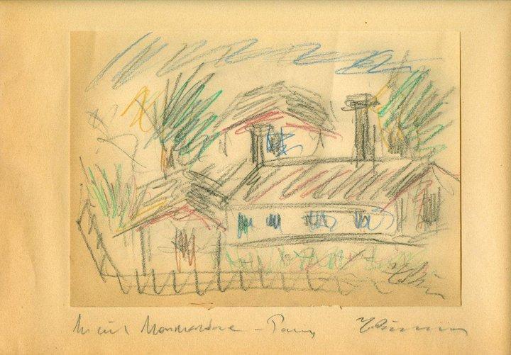 Houses in Montmartre, 1931