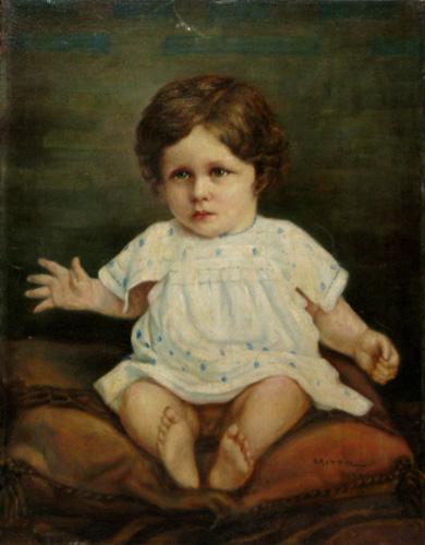 Sitting Child, 1903 - George Demetrescu Mirea