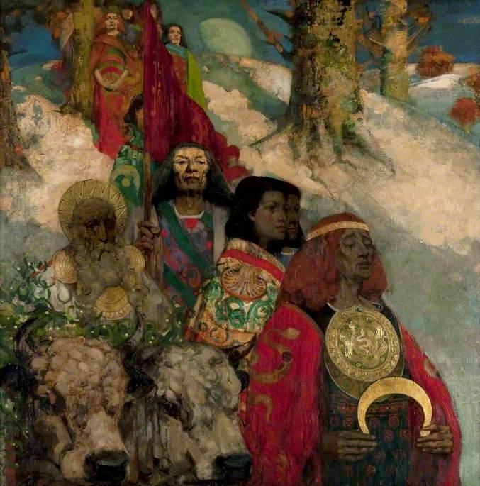 The Druids: Bringing In The Mistletoe