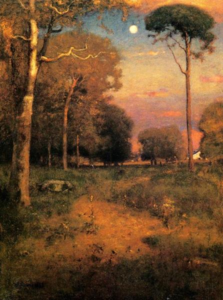 Early Moonrise, Florida, 1893 - Джордж Іннес