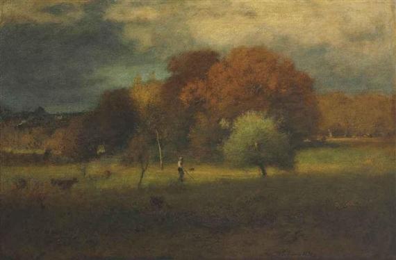 Tenafly, Autumn, 1891 - Джордж Иннесс