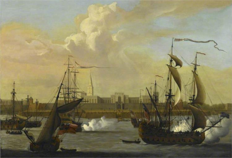 Fort William, Calcutta, 1731 - George Lambert
