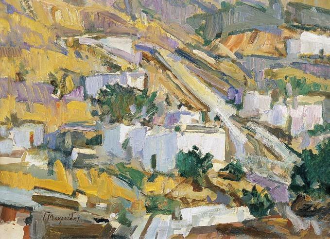 Island landscape - George Mavroides