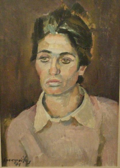Pink blouse, 1971 - George Mavroides