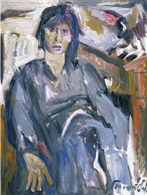 Portrait of Nina - George Mavroides