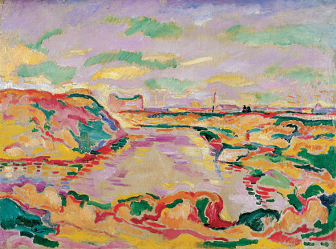 Landscape near Antwerp - Georges Braque