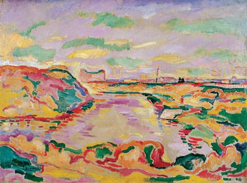 Landscape near Antwerp, 1906 - 喬治·布拉克