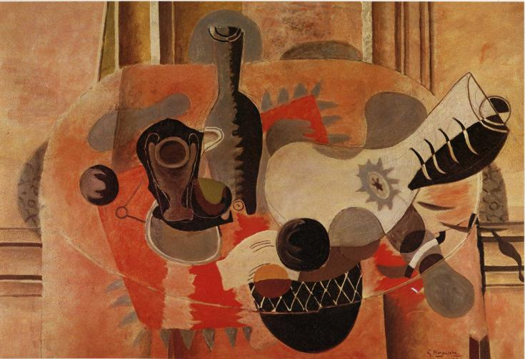 Still Life with Guitar, 1935 - Georges Braque