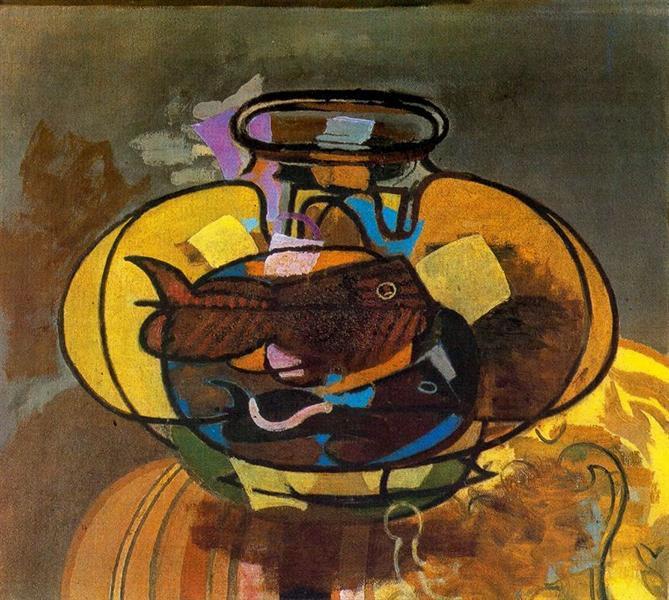 The Aquarium, 1951 - Georges Braque