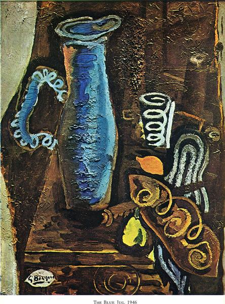The Blue Jug, 1946 - Georges Braque