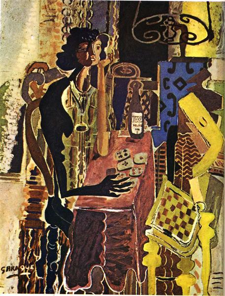 The Patience, 1942 - Georges Braque