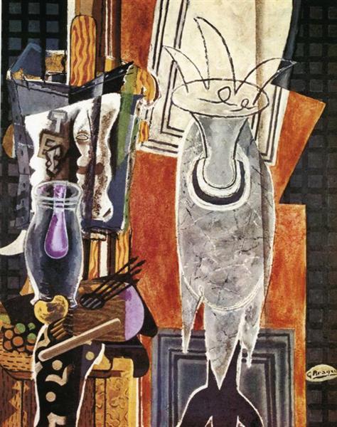 The Pedestal, 1938 - Georges Braque