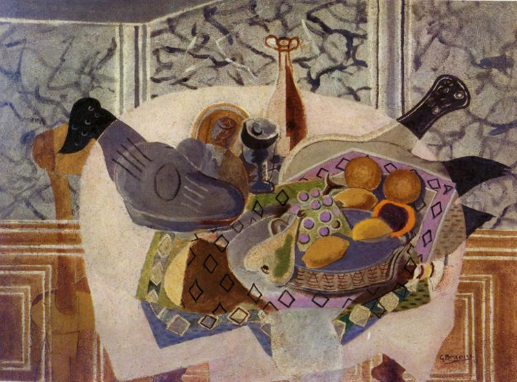 The Purple Tablecloth, 1936 - Georges Braque