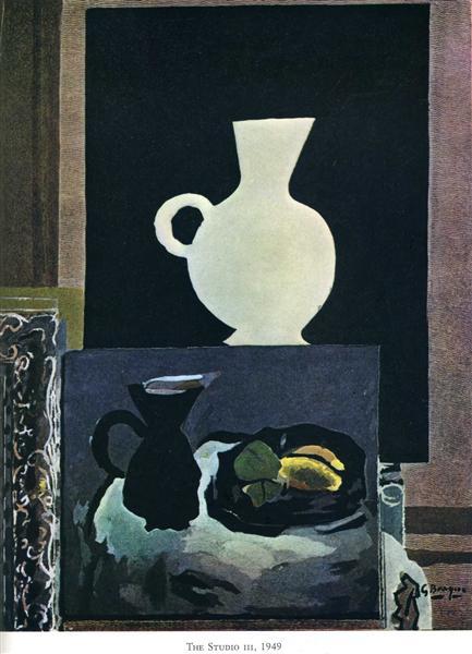 The Studio (I), 1949 - Georges Braque