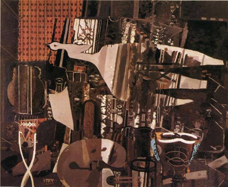 The Studio (V), 1949 - Georges Braque