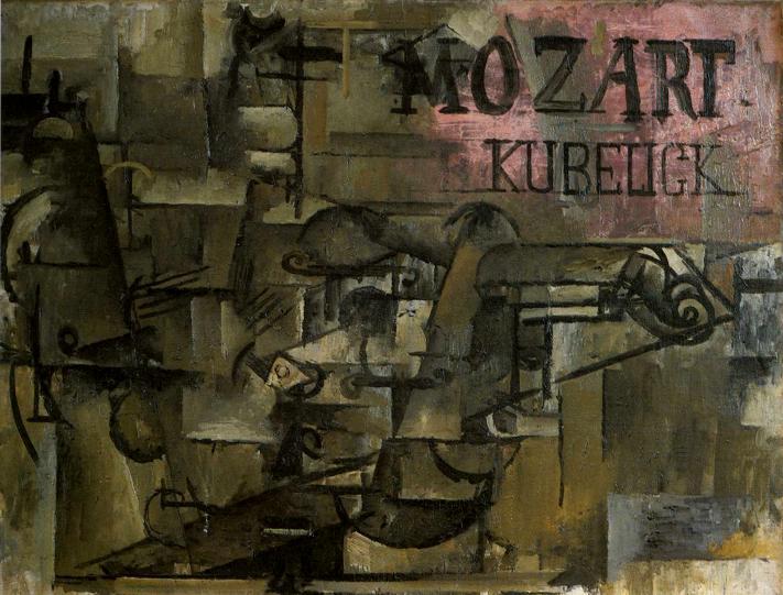 Violin Mozart Kubelick, 1912 - Georges Braque