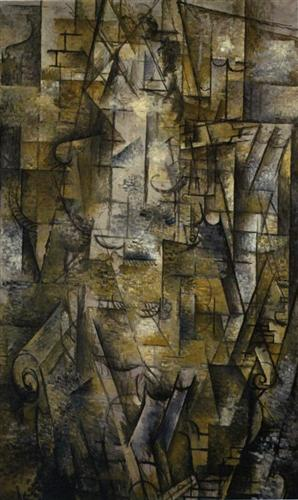 Woman Reading - Georges Braque