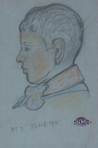 Profile of a Young Boy, 1911 - Georges Lemmen
